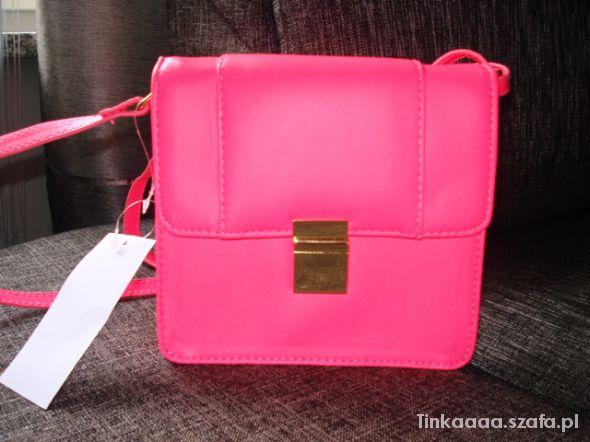 NEONOWA różowa torebeczka H&M