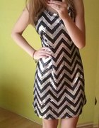 Cekinowa sukienka SH...