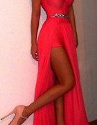 sliczna suknia wieczorowa