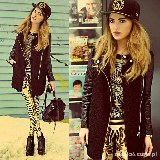gold n black