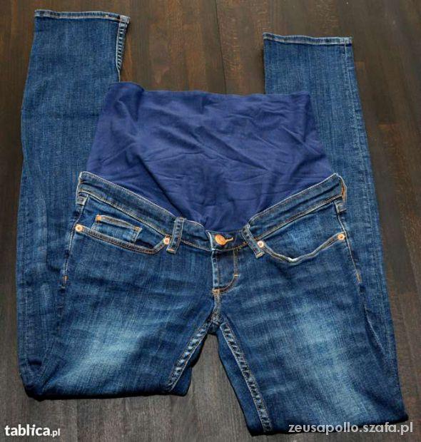 spodnie ciążowe H&M MAMA jeans 40 L