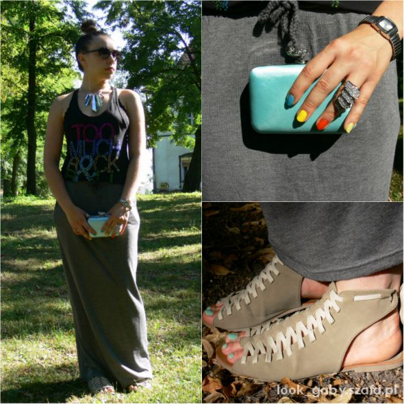 Mój styl Maxi skirt