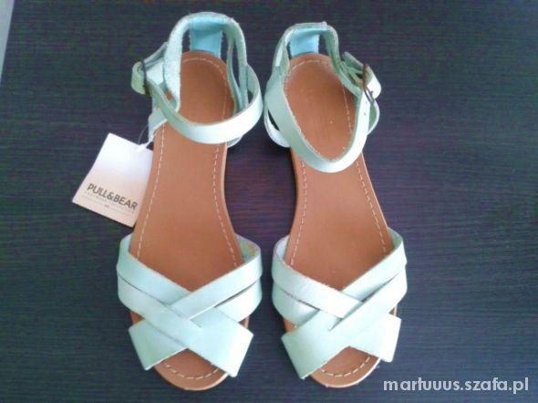 Sandały miętówki