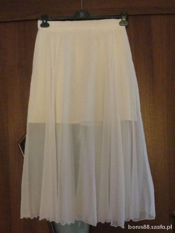 Spódnice biała maxi zachwycająca