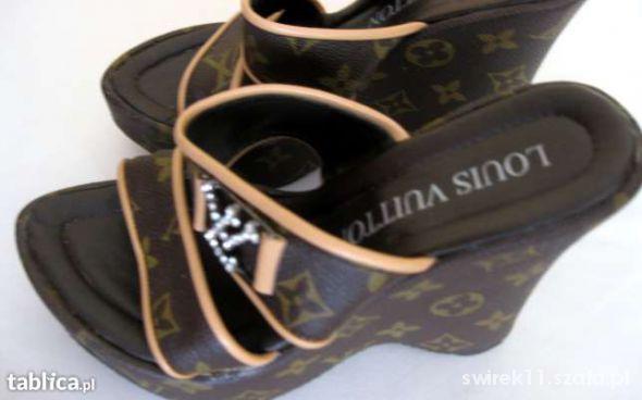 buciki na koturnie Louis Vuitton rozmiar 36