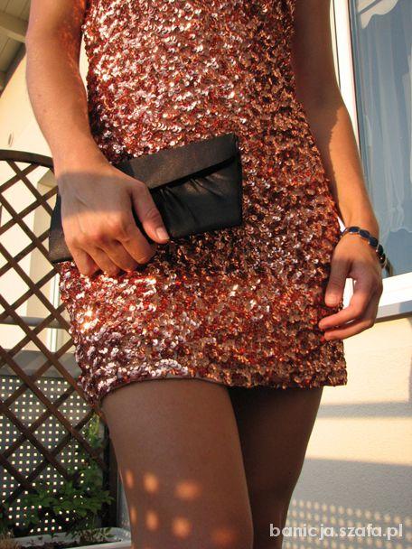 Imprezowe sylwestrowa sukienka