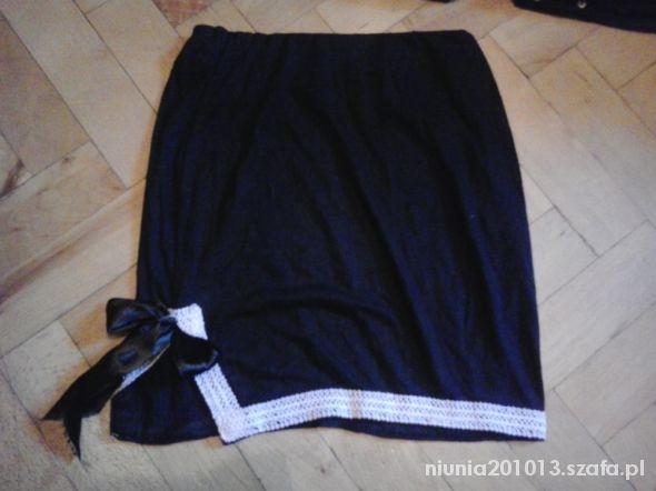 Spódnice Spódniczka Czarna Kokarda