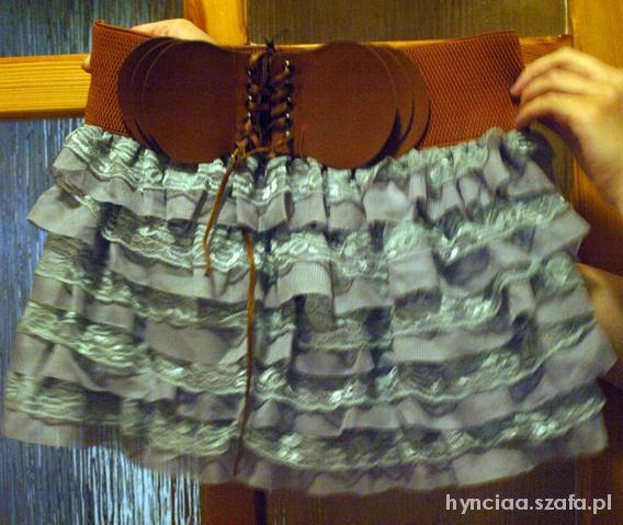 Spódnice mini falbanki