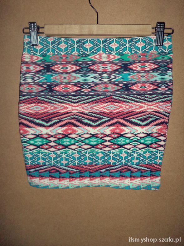 Spódnice Aztecka spódniczka
