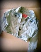 Jeansowa kurteczka xs