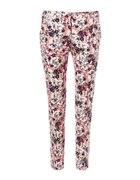 wzorzyste spodnie Zara