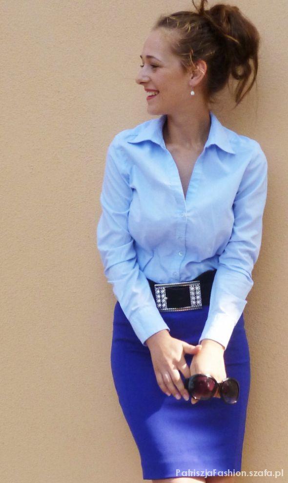 Do pracy blue and blue