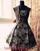LOLITA kwiatowa sukienka rokoko medieval...