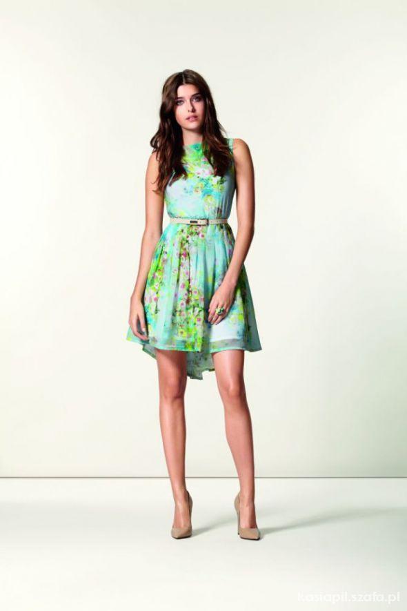 Zwiewna sukienka ORSAY lato 2013 rozmiar S