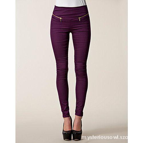 spodnie zip na kieszeniach Vero Moda S M...