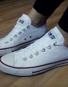 Converse 38 Białe Niskie