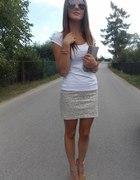 Sequin skirt...