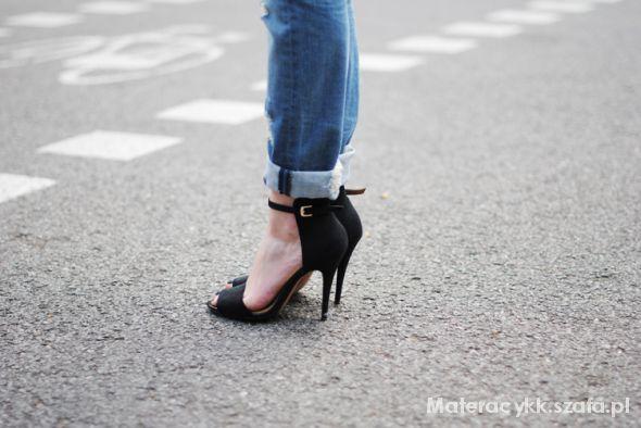 Sandały Sandały na szpilce ala ZARA