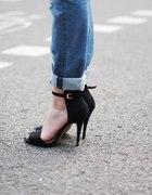 Sandały na szpilce ala ZARA