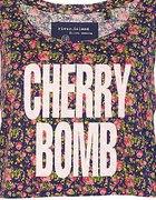 RIVER ISLAND cherry bomb oversize
