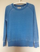 Niebieska bluza devore Zara S