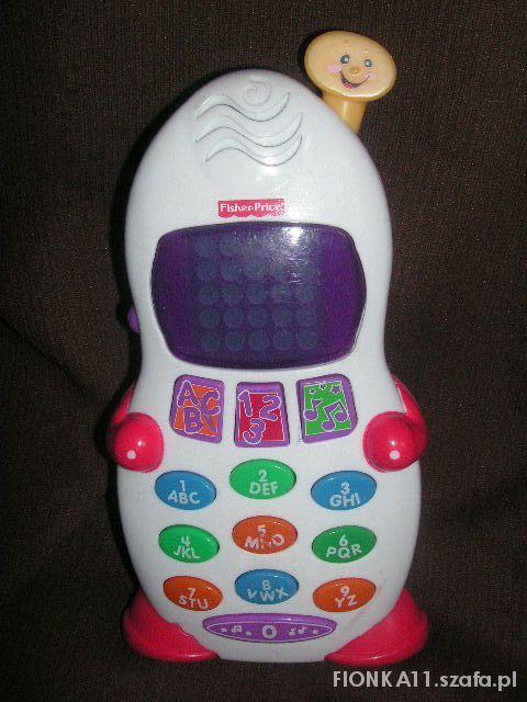 Zabawki uczona słuchaweczka fisher price