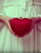 torebka serce serduszko
