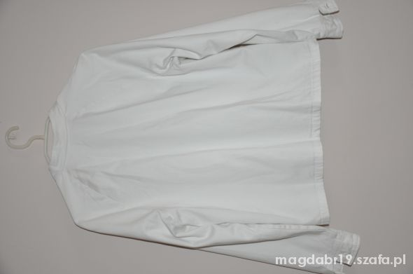 Biała kurtka Tommy Hilfiger w rozmiarze L w Odzież