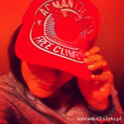 Armani Jeans Red Cap...