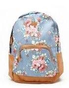 plecak w kwiaty...