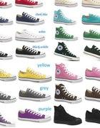 CONVERSE 145zł rozmiary od 36do44 wszystkie kolory