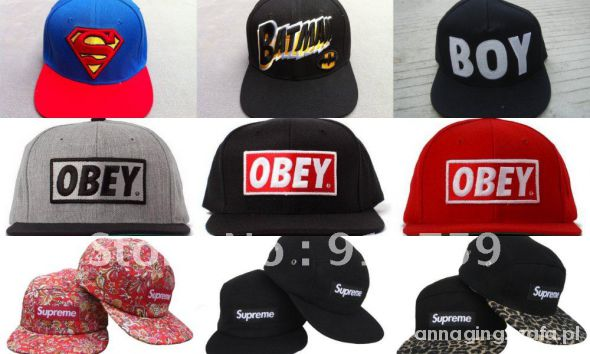 Snapback fullcap OBEY SUPREME NEW ERA etc...