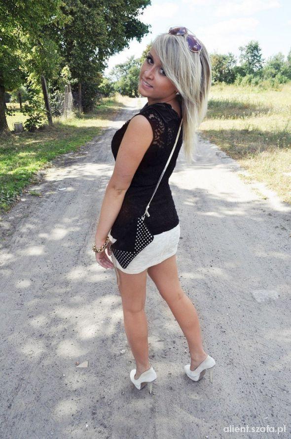 Eleganckie czarno na białym