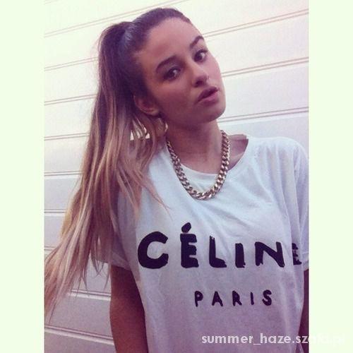Koszulka CELINE PARIS...