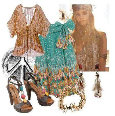 Spódnice boho band of gypsies maxi skirt
