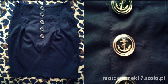 Spódnice Elegancka czarna spódnica