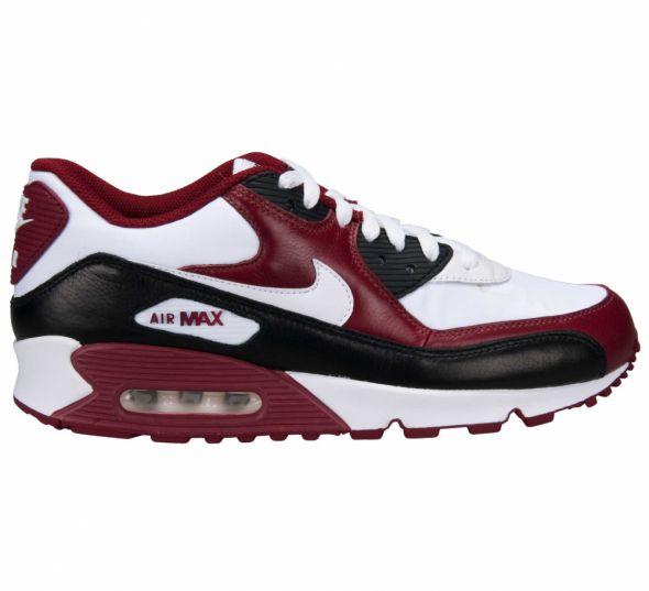 Nike Air Max 90 Premium bordo burgund koty...
