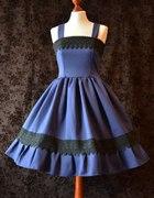 Bernadetta JSK Lady Sariel Navy Blue