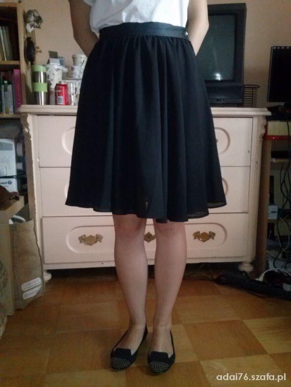 Spódnice baby doll czarna s