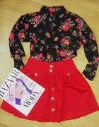 H&M i Atmosphere floral i ognista czerwień