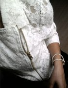 Koronkowa RAMONESKA złoty zip