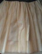 łososiowa tiulowa spódnica