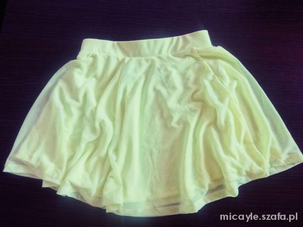 Spódnice neonowa H&M