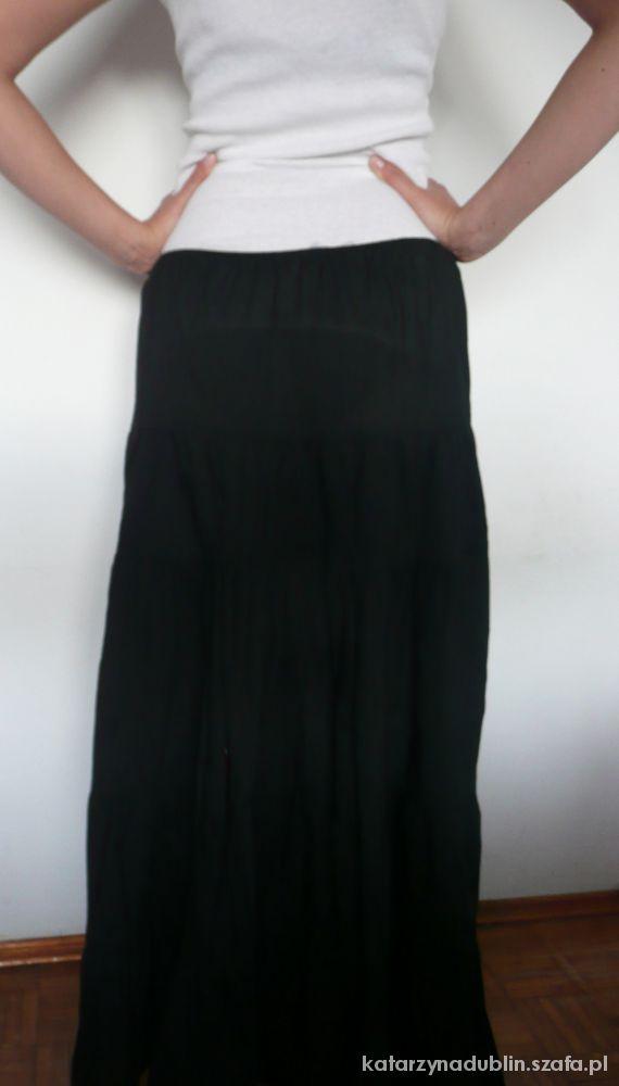 Spódnice MAXI BLACK