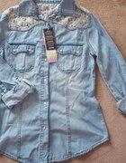 Koszula jeansowa koronka PRIMARK