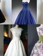 sukienka w stylu lat 50...
