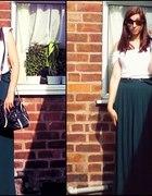 Maxi skirt green