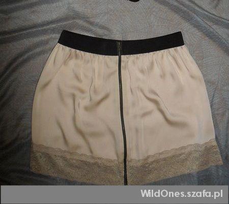 Spódnice Śliczna pudrowa spódniczka