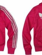 adicolor ADIDAS firebird rózowa bluza L M