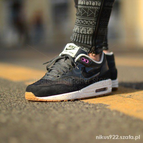 timeless design 0ac3a 7f436 Buty Nike Wmns Air Max 1 Anthracite Black